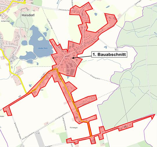 Hoisdorf 1. Bauabschnitt