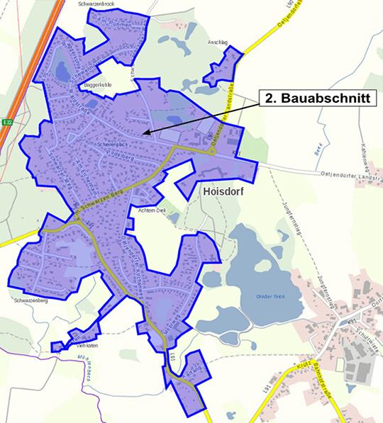 Hoisdorf 2. Bauabschnitt